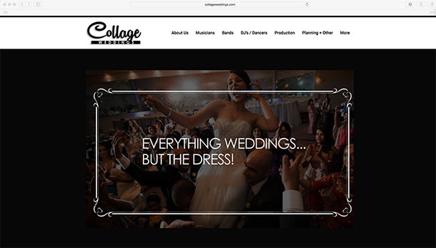 Collage Weddings. WEDDING, ENGAGEMENT PARTY OR OTHER SPECIAL EVENT IN TORONTO, THE GTA, MUSKOKA OR NIAGARA REGIONS…..LIVE MUSICIANS,